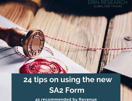 24 tips on using the new SA2 Form (Statement of Affairs) as recommended by Revenue