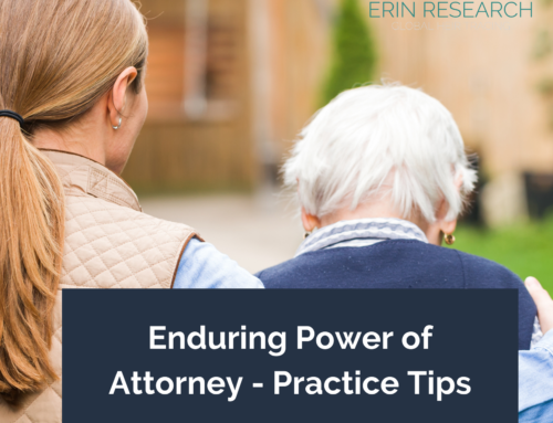 Enduring Power of Attorney: top practice tips