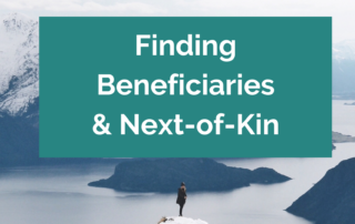 A guide to tracing missing beneficaries in probate and estate cases for solicitors