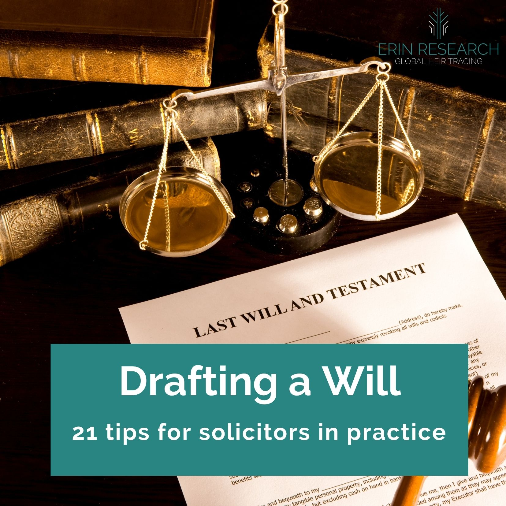 Drafting a will - 21 tips for solicitors - practice tips for drafting wills